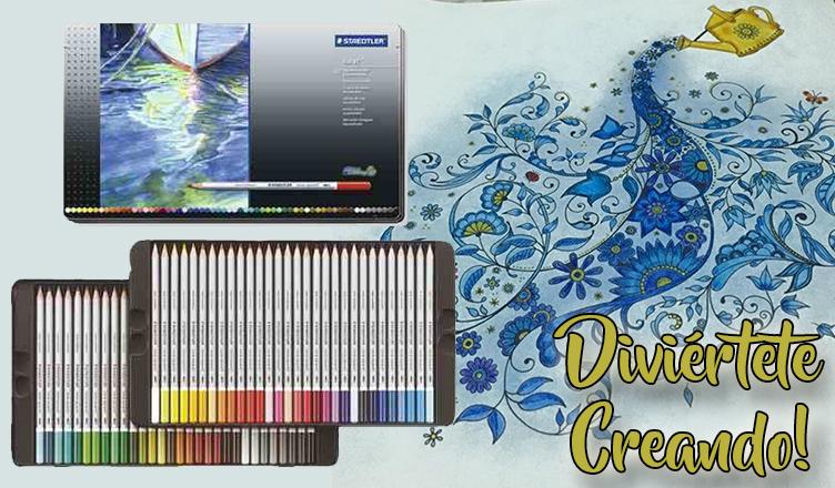 crayones acuarelables