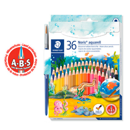 CRAYON STAED 14410ND36COL ACUARELABLES