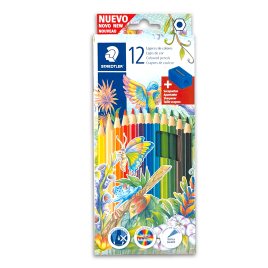 CRAYON STAED 143 C12 *12COL.