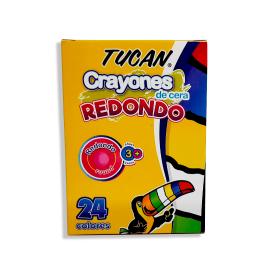 CRAYON TUCAN CERA 24COL