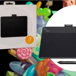 TABLET INTUOS CREATIVE SMALL  BLACK CTL4100